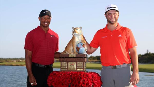 Rahm rockets to Hero World Challenge victory