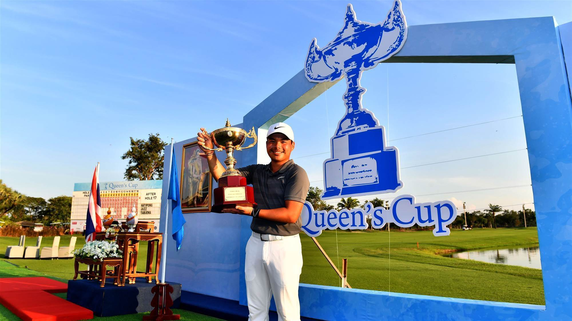 Tabuena wins the Queen's Cup