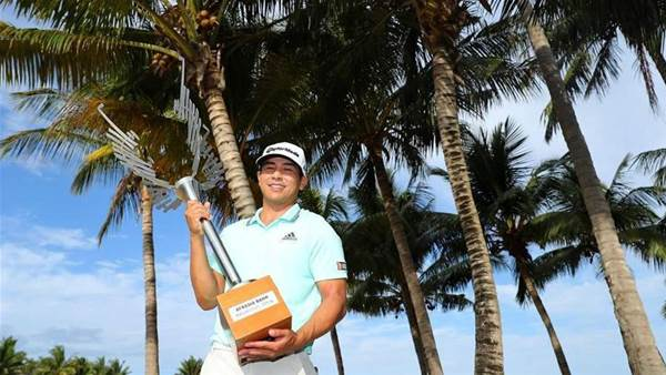 Tour rookie Kitayama captures Mauritius Open