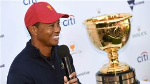 Tigermania hits Melbourne as Woods talks Presidents Cup