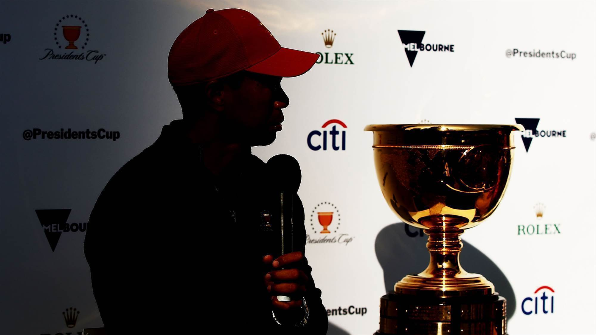 Are Tiger and his men fair dinkum about the Presidents Cup?