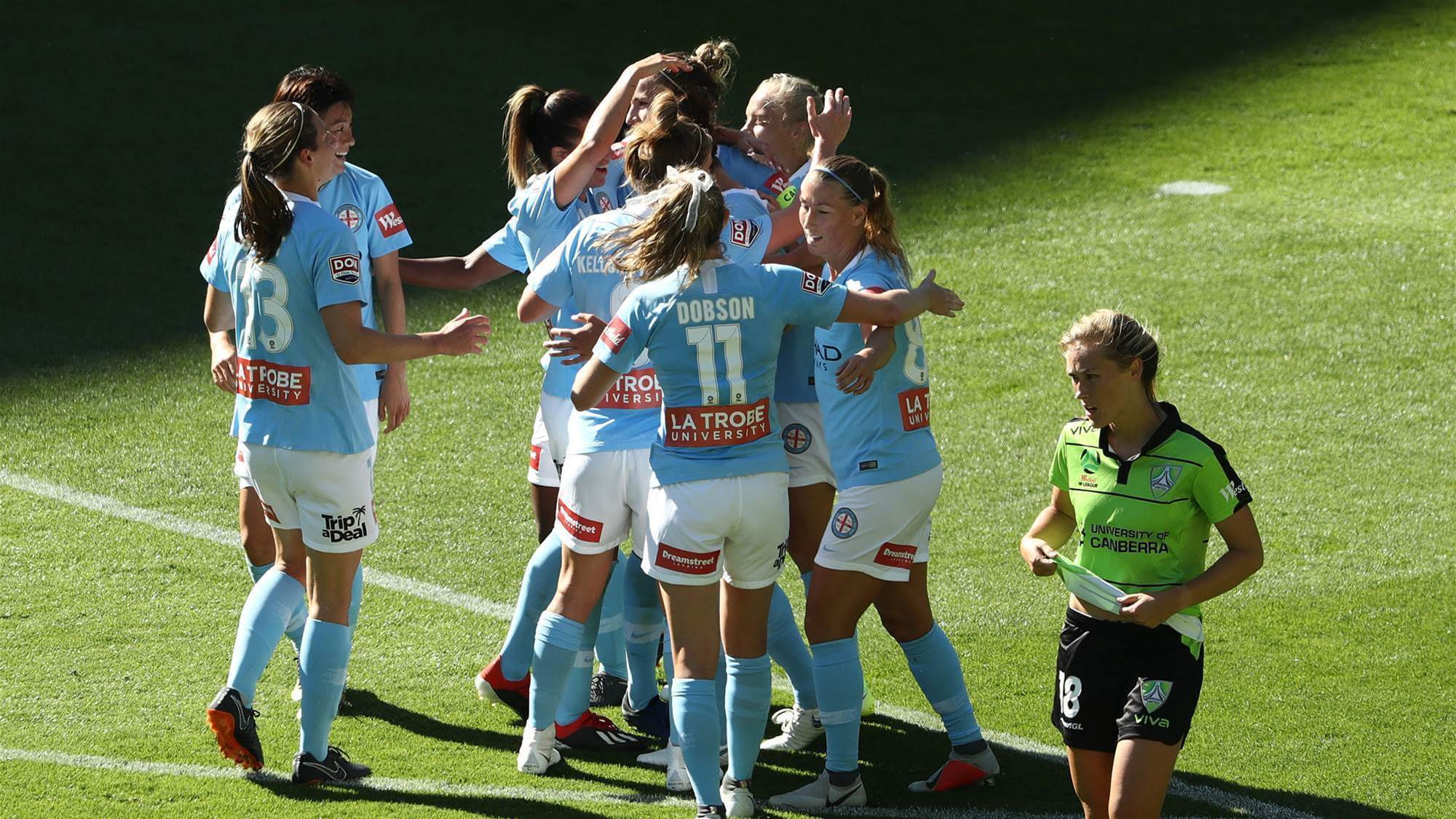 City find their groove against Canberra