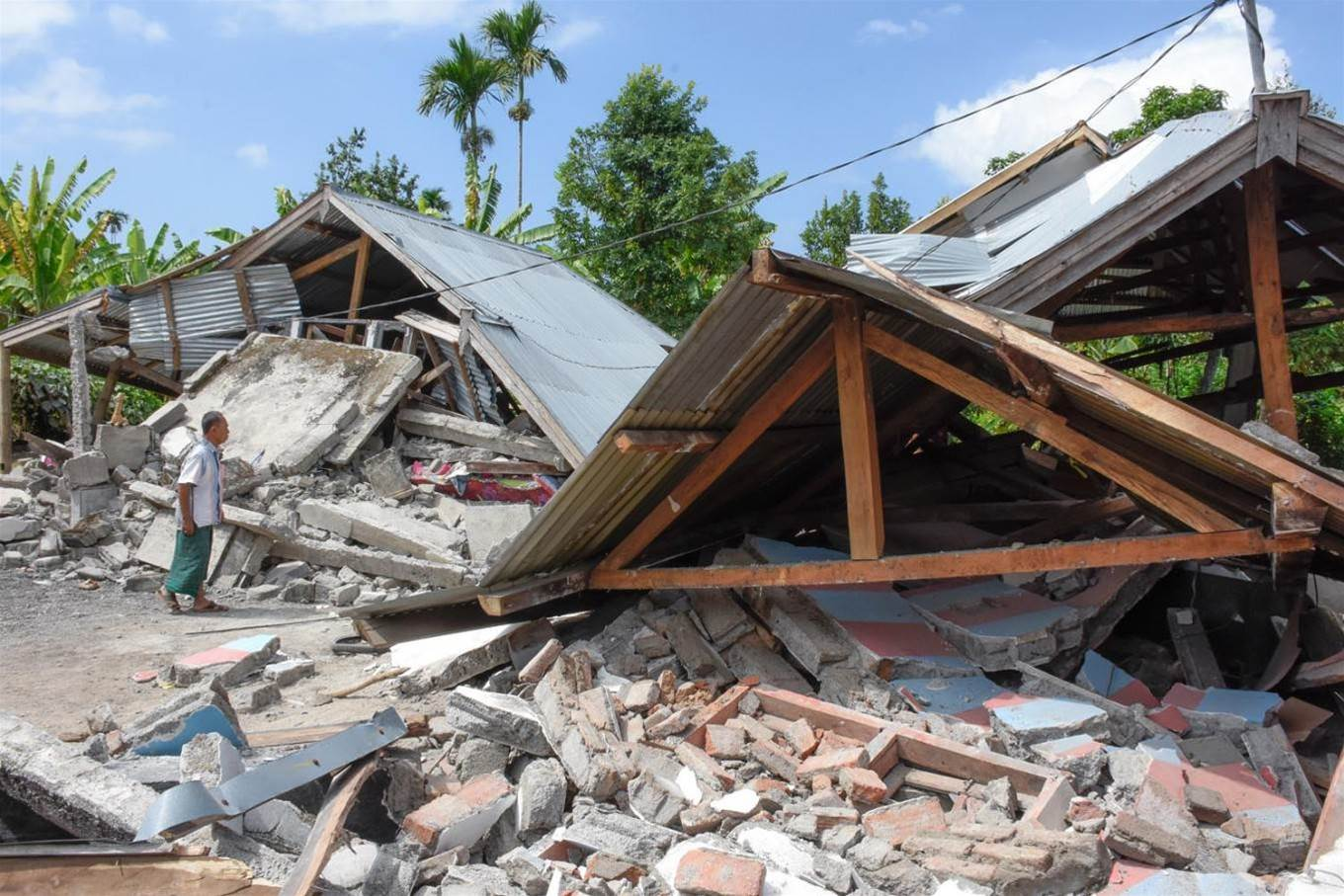 Lombok Earthquake Leaves At Least 82 Dead