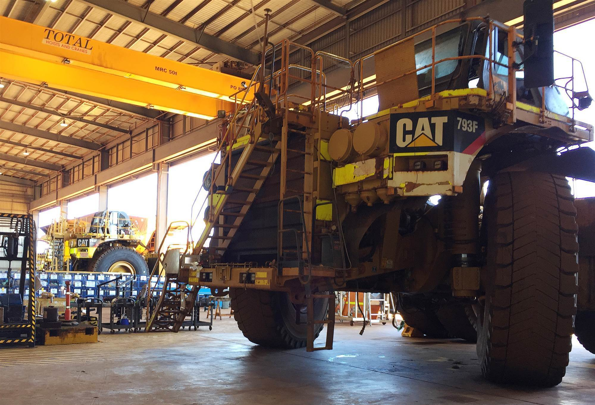 Fortescue says two driverless trucks involved in low-speed incident