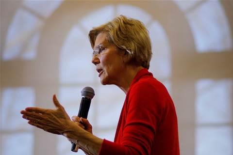 Wall St critic Warren vows to break up Apple, Amazon, Facebook, Google