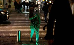 Tel Aviv tries out new crosswalk lights for mobile addicts