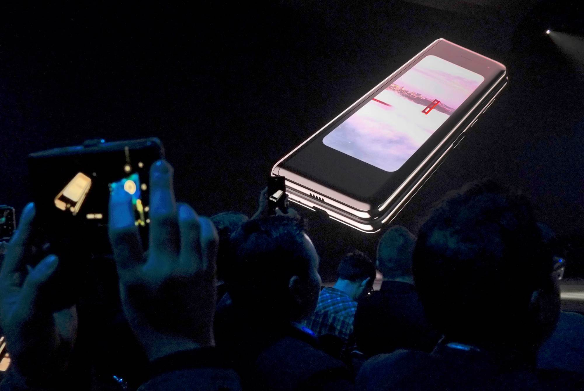 Samsung gets reports of Galaxy Fold screen problems