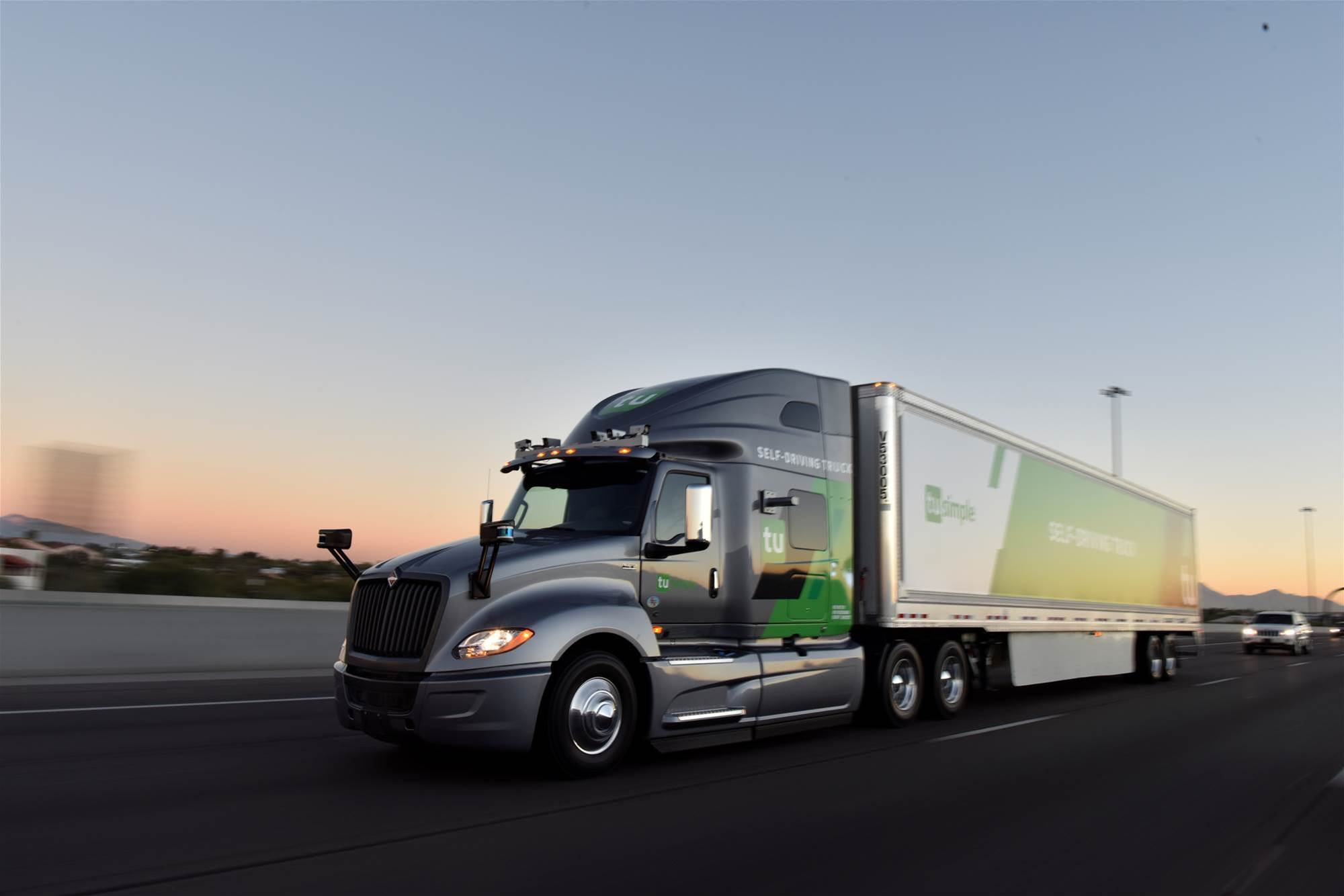 Self-driving trucks begin mail delivery test for US Postal Service