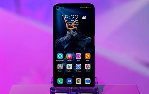 Huawei clings onto No. 2 smartphone spot amid US row
