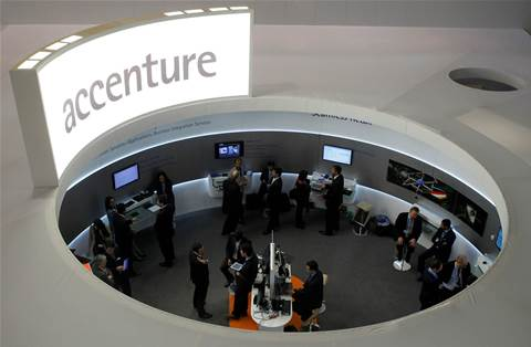 Accenture's fall in bookings dampens upbeat quarterly profit, forecast