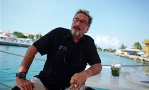 Fugitive US tech guru McAfee: Cryptocurrency is next Cuban revolution