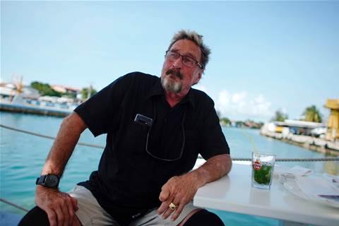 Fugitive US tech guru McAfee: Cryptocurrency is next Cuban revolution