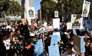In tech 'awakening,' US workers at Google, Amazon join climate protests