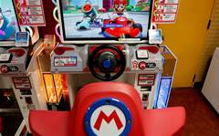 Mario Kart mobile game crashes at first corner