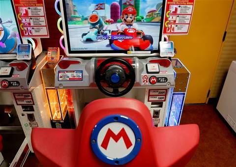 Mario Kart mobile game crashes at first corner