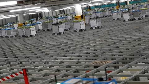 "Britain's Ocado to open first ""mini"" robotic warehouse"