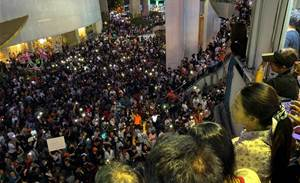 From tweet to street: New generation joins Thai protest