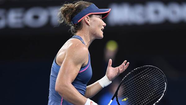 Not a Happy New Year for Stosur