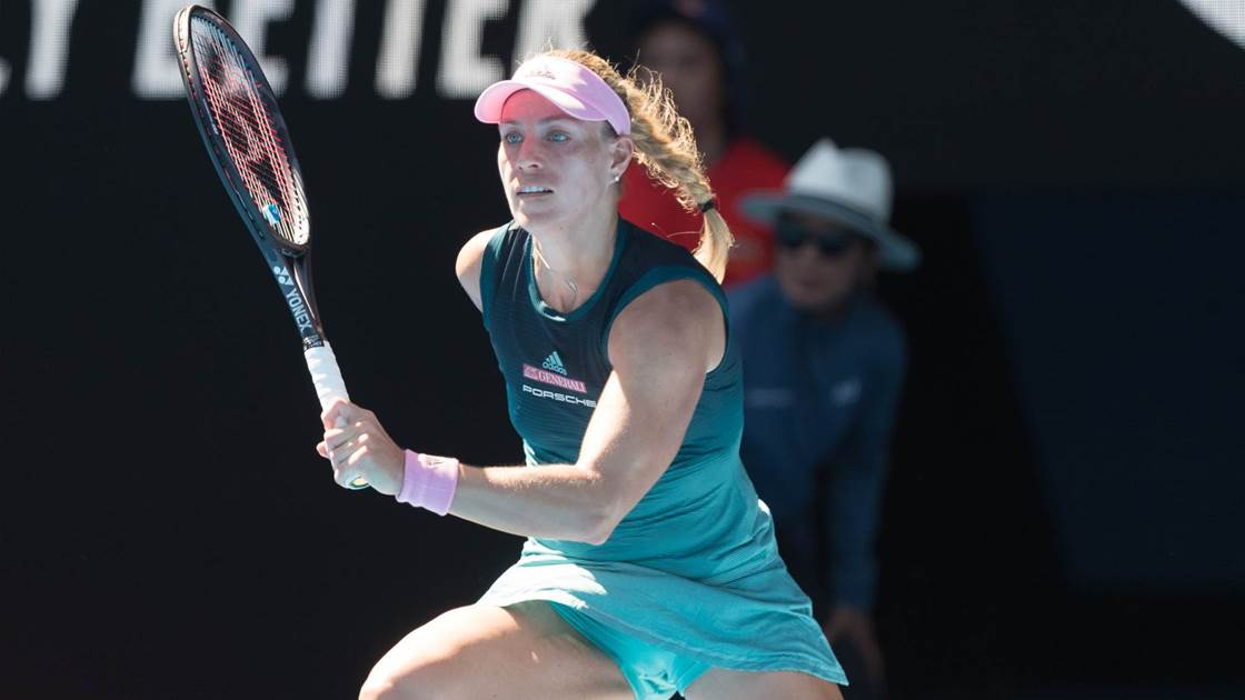 Kerber a touch above