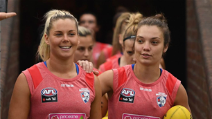 AFLW Preseason: Bulldogs v Collingwood
