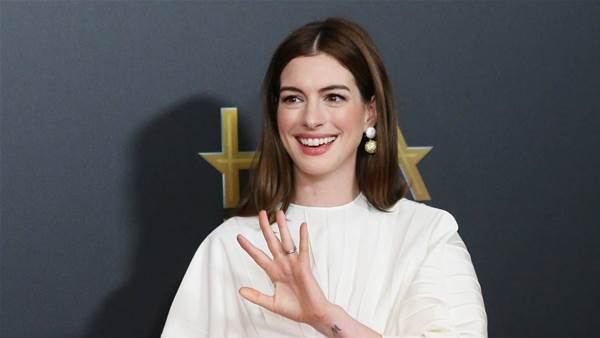 Anne Hathaway's Stress Relief Ritual Involves Lighting Things on Fire