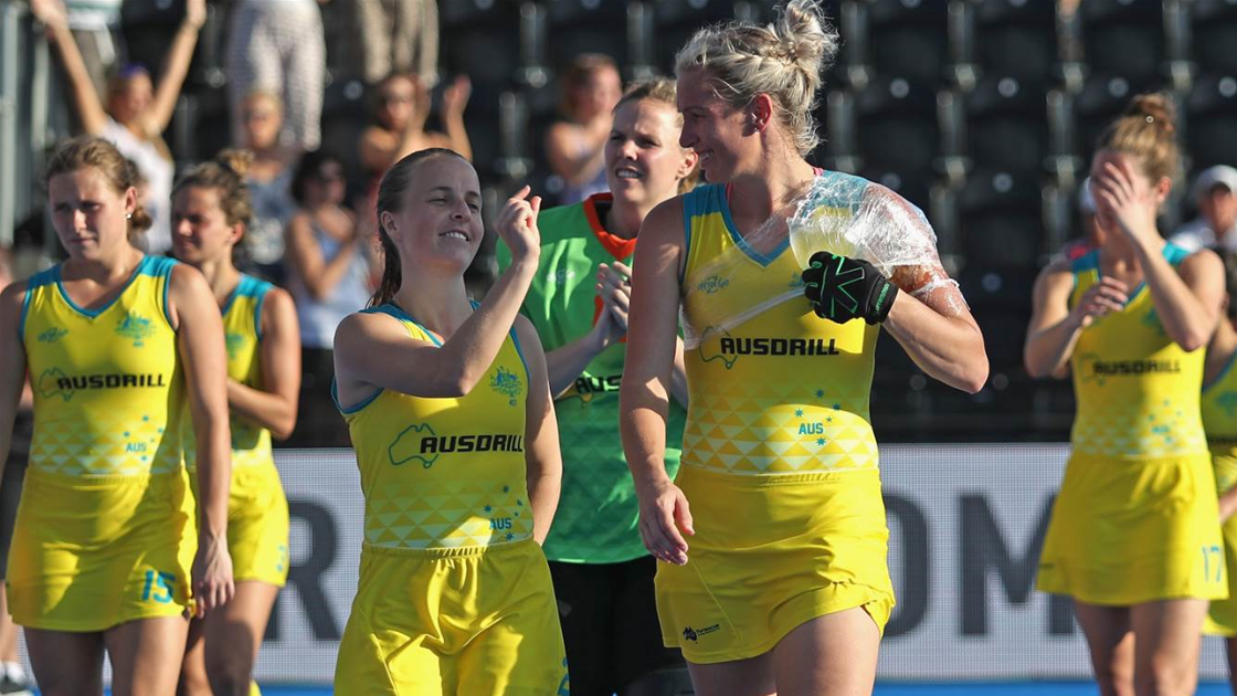 Hockeyroos Switch to Co-captain Trilogy