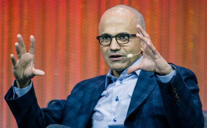 Microsoft CEO suggests customers favor Azure because of Amazon's new industry push