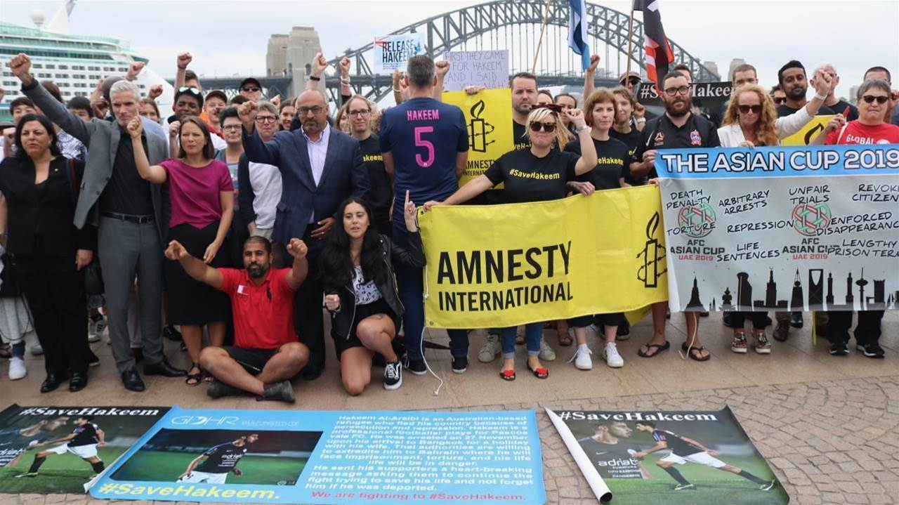 Foz's fight to free Hakeem