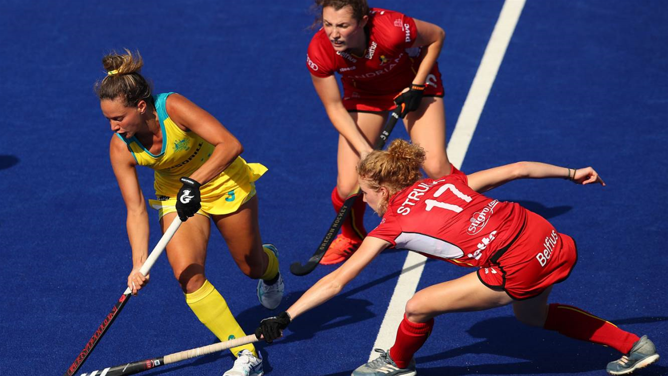 Hockeyroos Fall to Belgium