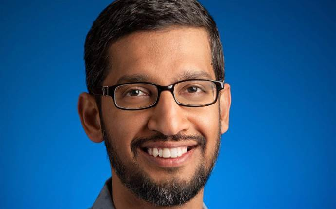 Google CEO talks up channel focus in 2019