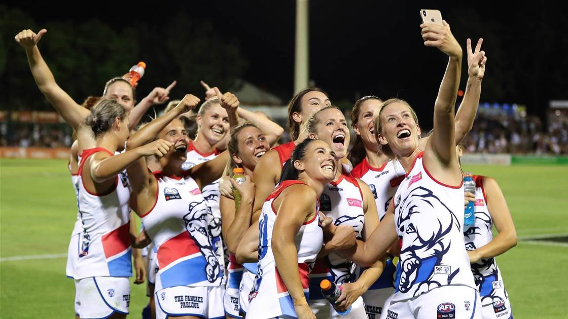 Bulldogs set to celebrate success with Footscray faithful