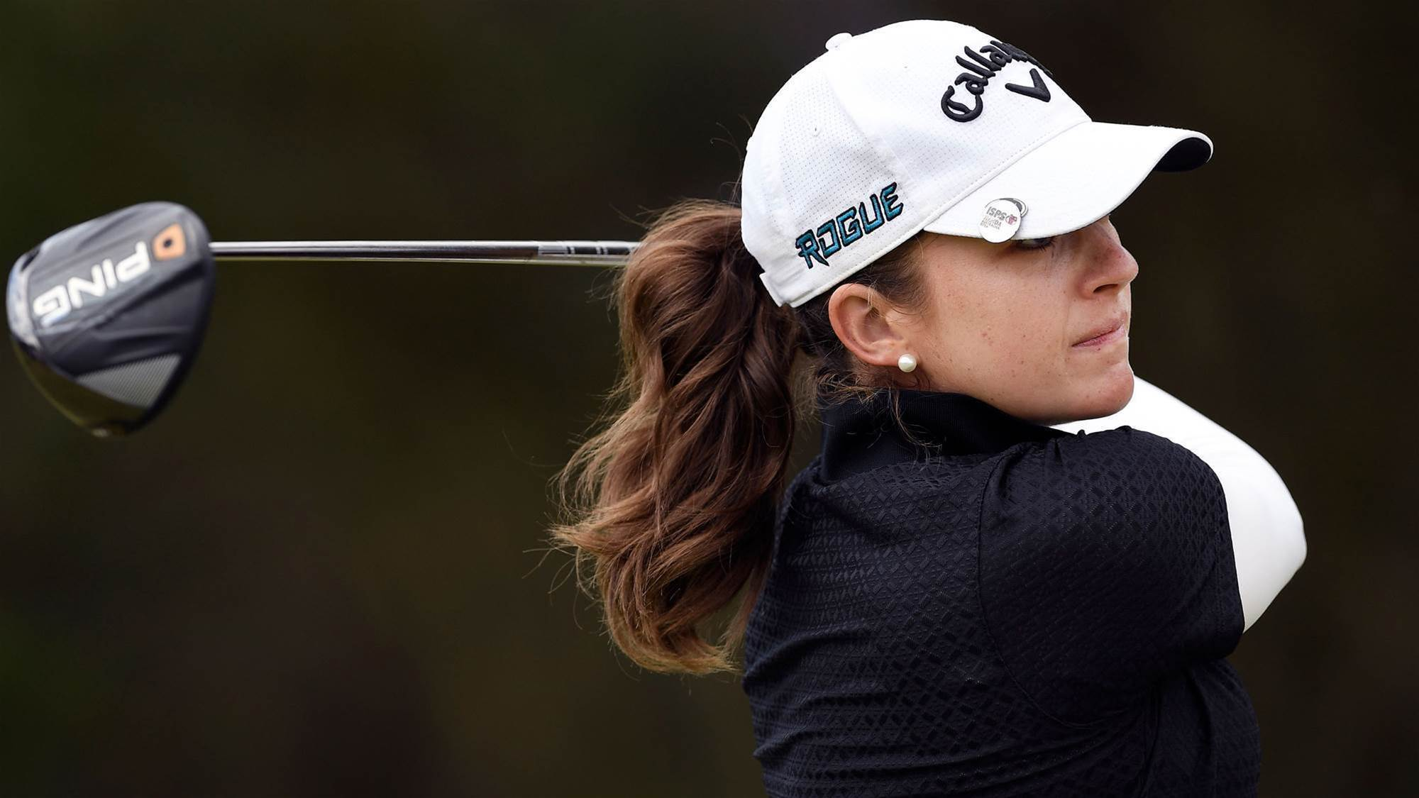 Women's Vic Open: Kaufman clubhouse leader