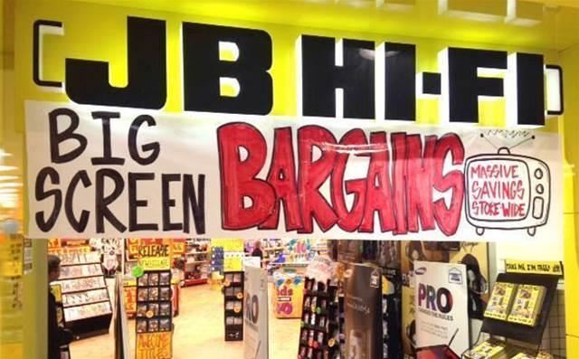 JB Hi-Fi took $3.8 billion in six months