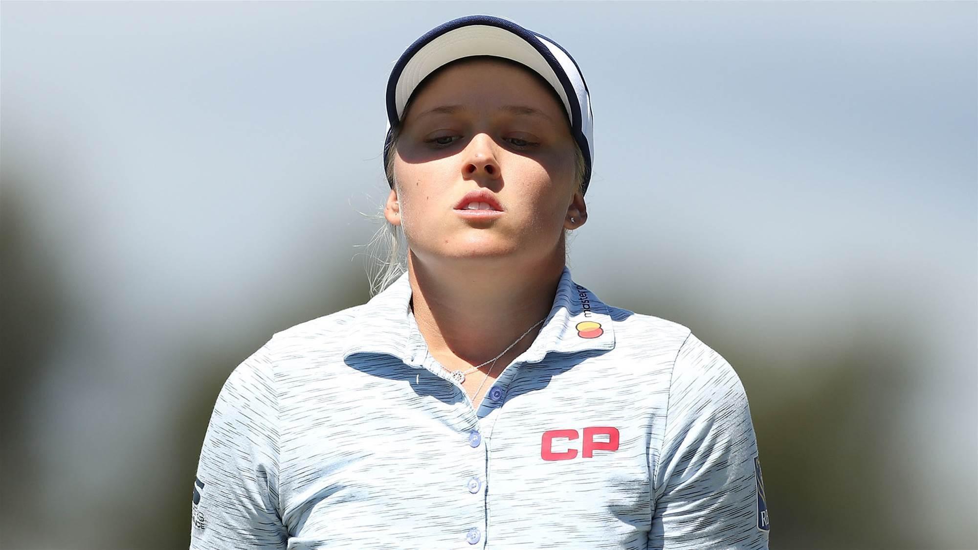 Henderson out of Women's Aussie Open