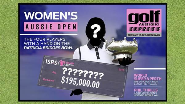 GA Express 319: Women's Aussie Open Preview