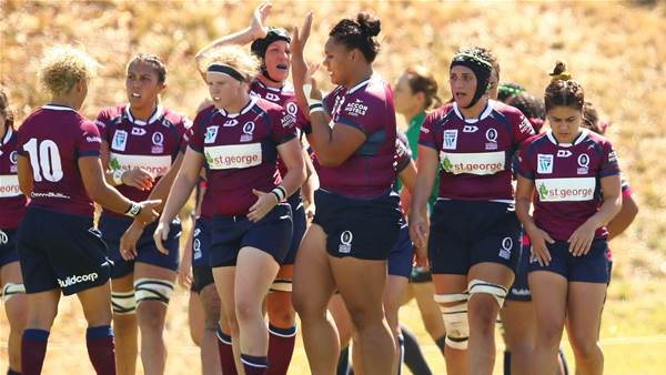 Queensland send warning shots with record win
