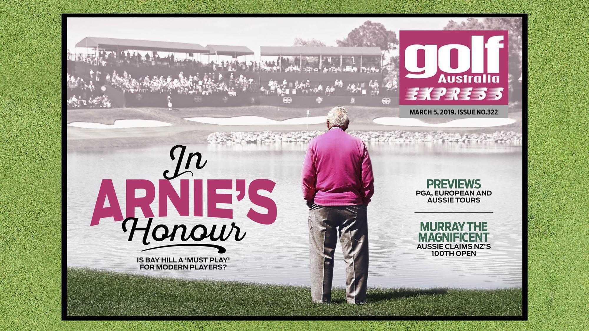 GA Express 322: In Arnie's Honour
