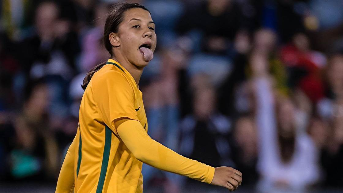 Sam Kerr is Nike's $1m face of all Australian sport