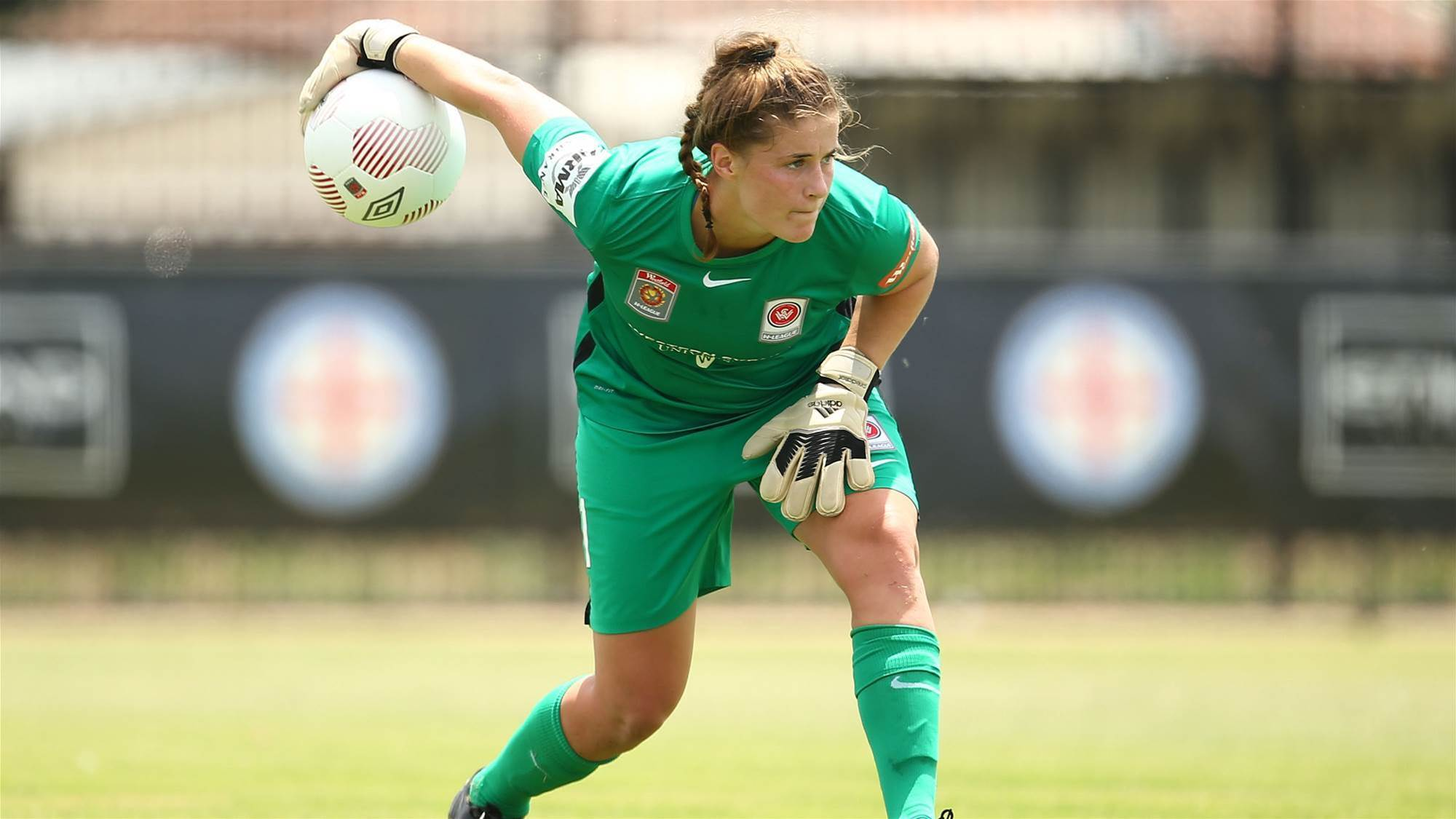 Micah taking Matildas opportunity with both hands