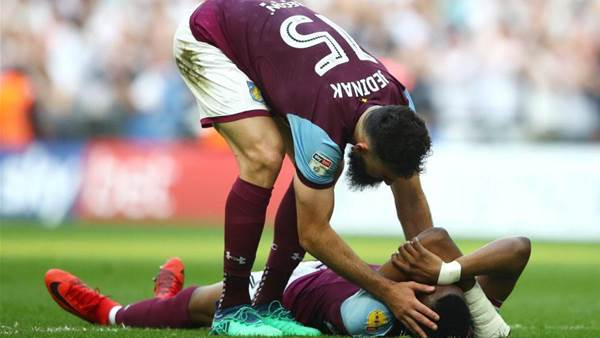Jedinak hailed after fan gesture