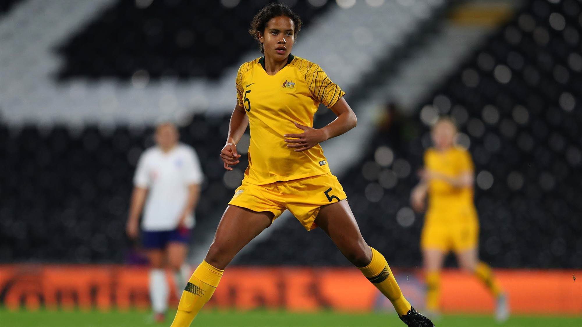 Young Matildas double digits over Nepal