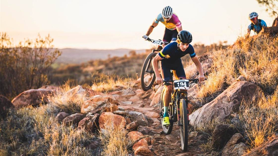 Outback Cycling Easter in the Alice is a roaring success!