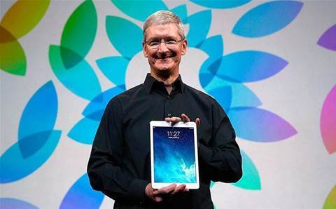 Apple talks up 'blockbuster' iPad sales as Mac, iPhone stalls