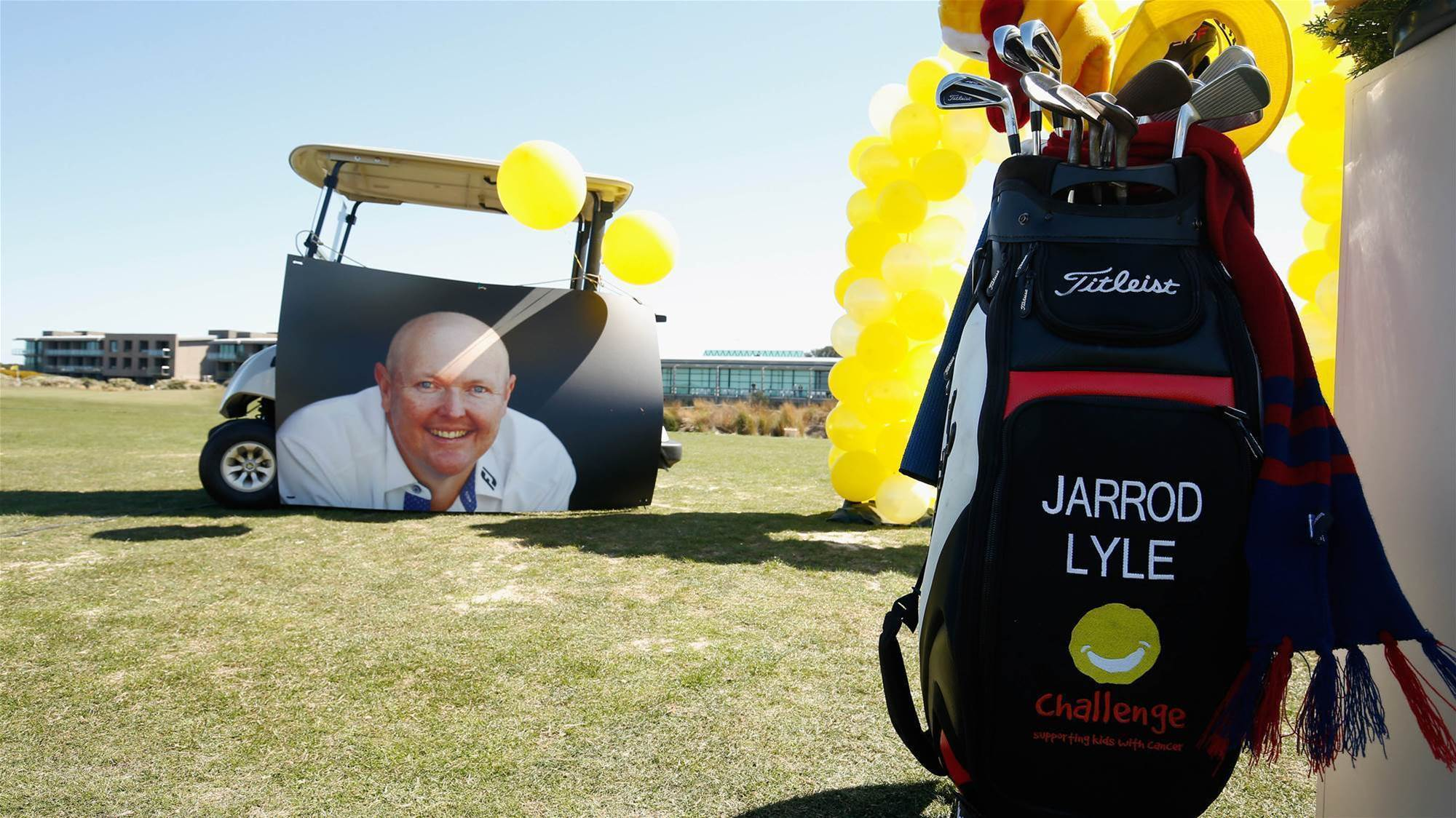Help raise funds for Challenge by #DoingItForJarrod this August