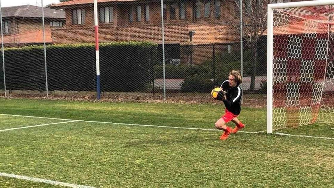 Canberra schoolboy signs for English club