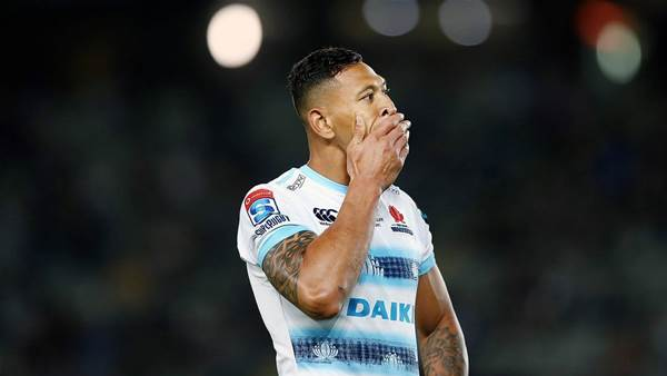 Rugby tears up Folau contract