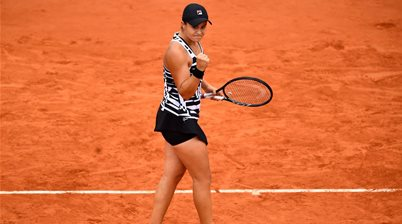 French Open drought over after Barty win