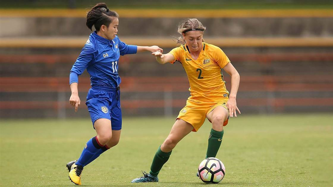 Roestbakken on cloud nine with Matildas