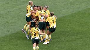 Records smashed in Matildas' triumph
