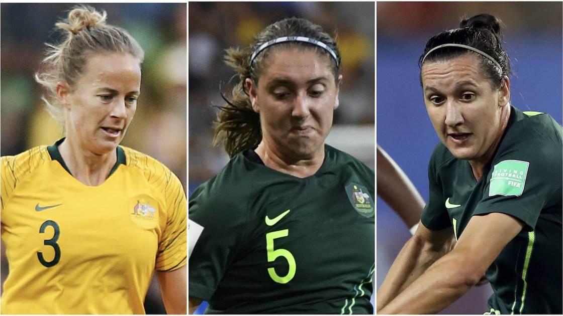 Trio's Matildas milestones